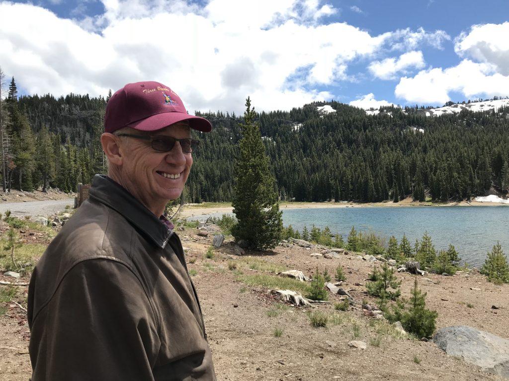 Randy Parmele, Three Creeks Lake below Tam McArthur Rim